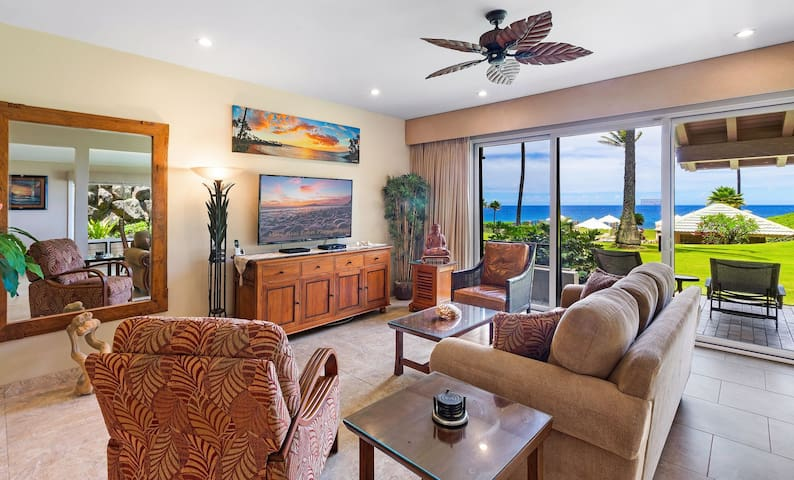 Last Min Stay Discount ~NICE UPGRADED OCEAN FRONT~ PLATINUM MAUI VACATIONS