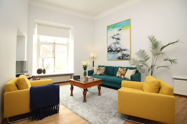 Big 2 bedroom in Old Town with high ceilings