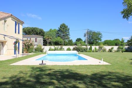 Maison en pierre, Sud Ouest France - Bazas - Ev