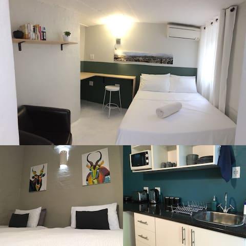 Double garden suites in prime tropical Durban