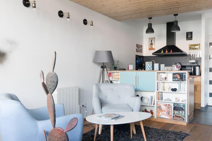 L'Atelier/Loft  Calme, Confort  Pour votre Bonheur