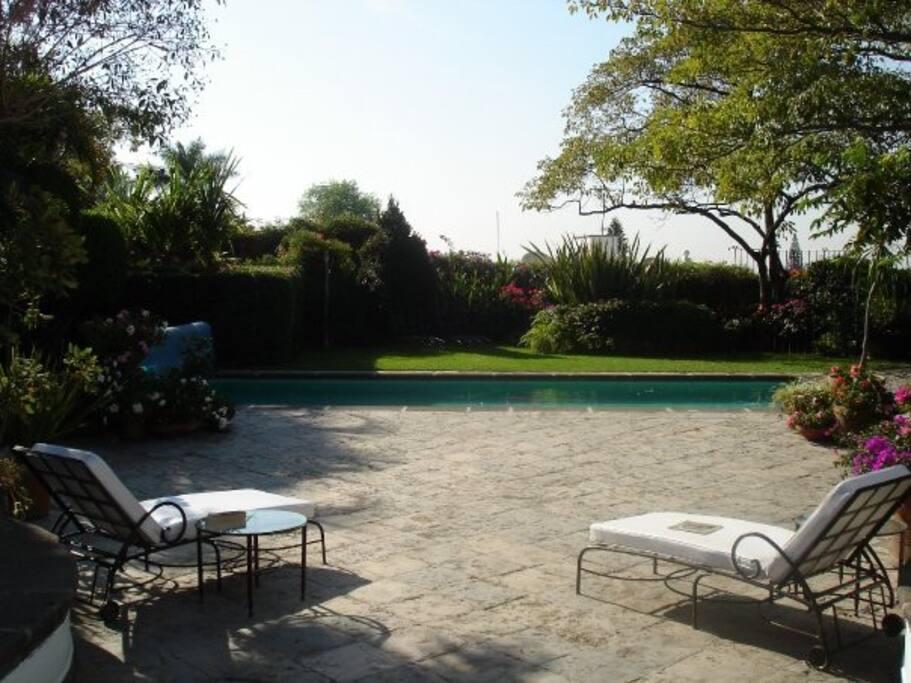 Pool view/Piscina