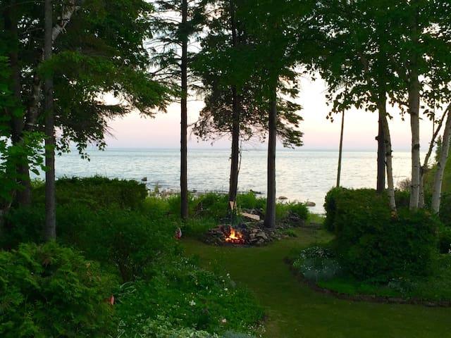 Lake Huron Waterfront Cottage
