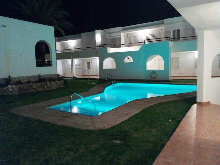 Sunny South Facing Apartment on Mojacar Playa!