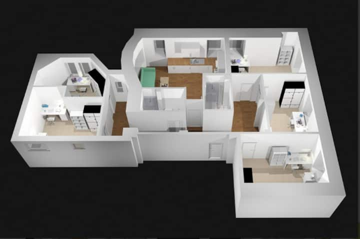 Student Only Property: Pretty STANDARD FLAT
