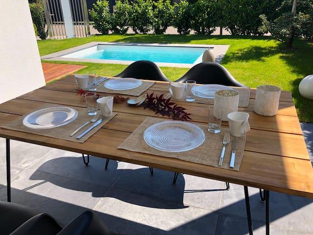 La Vigna Living - mit eigenem außen Pool und Sauna