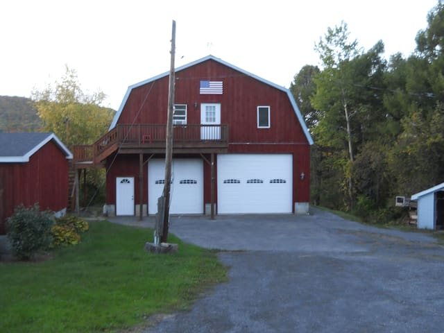 Valley Brook Front Apartment (upstairs) - Cooperstown - Huoneisto