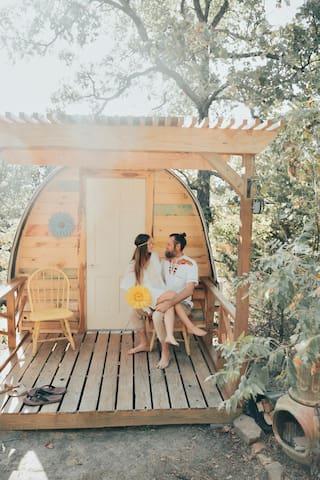 Sunny's Hut at Three Ponds Community