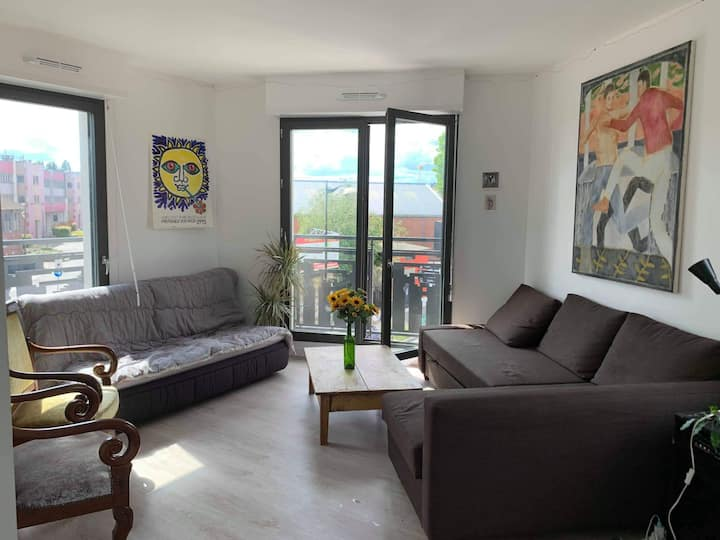 Appartement 65m2 Porte de La Villette