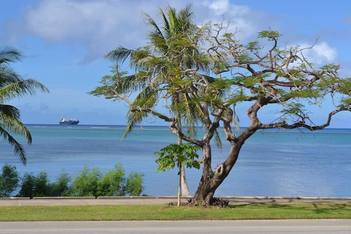 BEACH VIEW LOFT 享受海滩景色 해변을 즐기다 ビーチ沿い - Garapan - Loteng