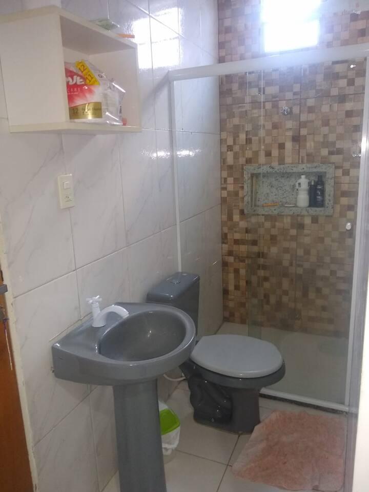 Apartamento à 7 minutos da praia de Buraquinho/BA