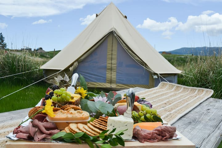 Camp in Luxury, Indianapolis Glamping Experience