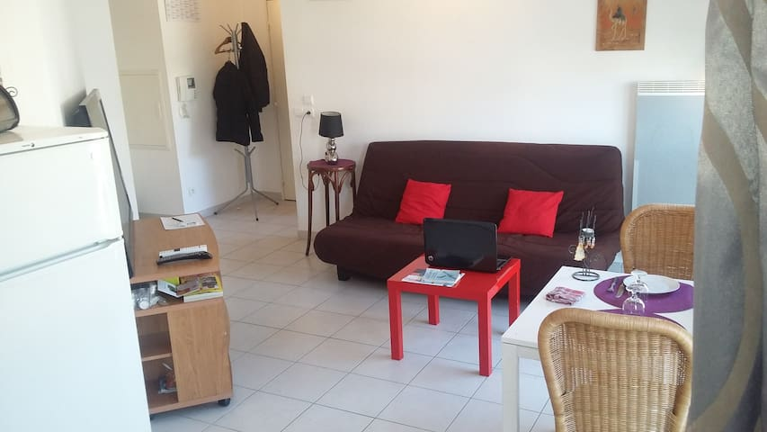 Marseille ( La Valentine ) appartement T2 calme ! - Marseille - Apartment