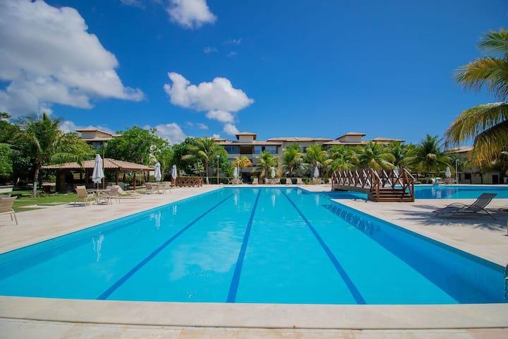 GB20 Incrível Ap 3 Quartos, Guarajuba - Genipabu Club House
