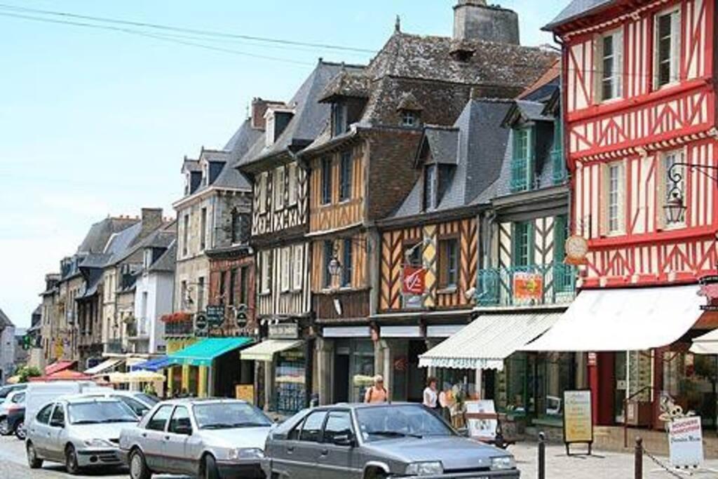 Grand rue Dol de Bretagne