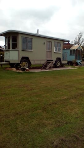 Showman's Wagon sleeps 4