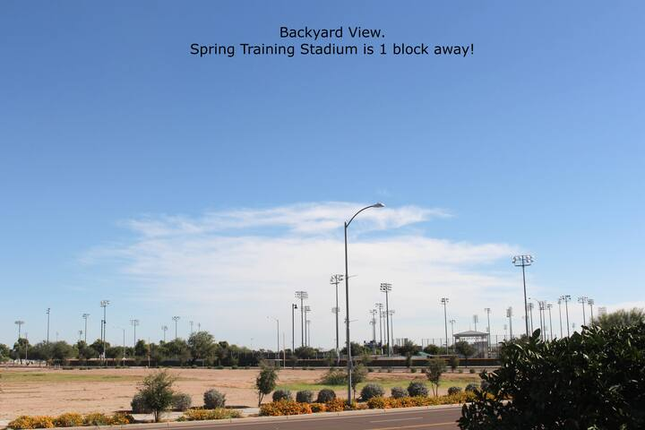 Spring Training just outside your front door!!