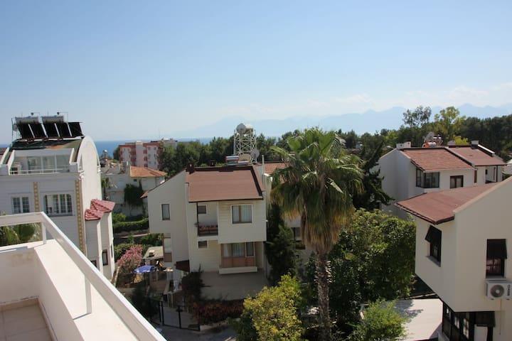 batı terası manzarasi / view form west terrace