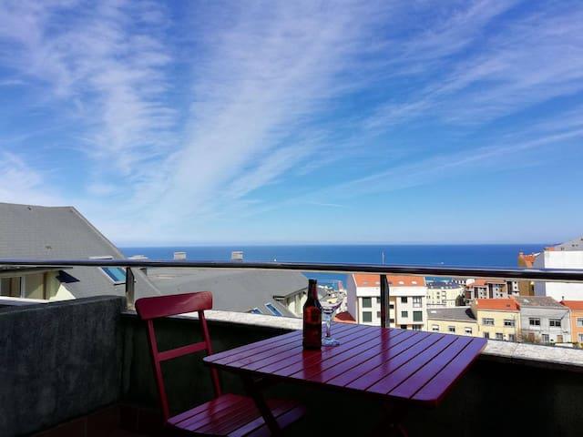 Apartamento al lado de la playa en Malpica