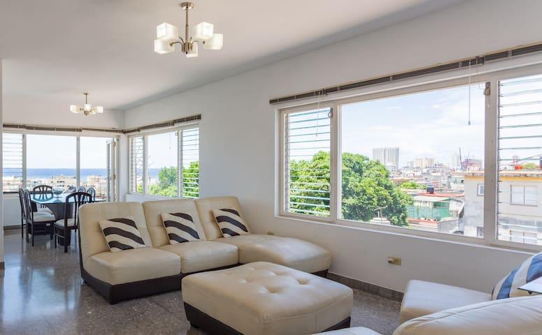 Apartamento con vistas en La Habana