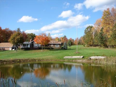 Western Catskills Paradise Four-Season Retreat