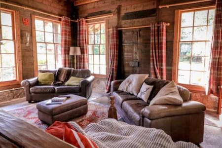 Log Cabin in Auchtertool.