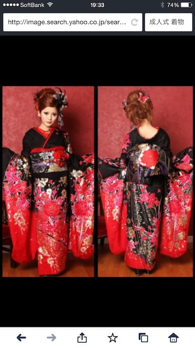 If you want to try on and wear an original Japanese  Kimono or Yukata, I can rent you one for a day and help you getting dressed for a fee. Please inquire. I have about 20 different Kimonos and Yukatas. Hair styling can be arranged too.