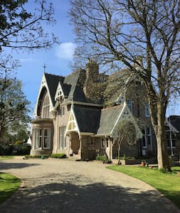 Room in victorian listed mansion - Ayr - Haus