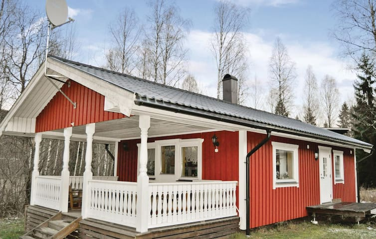 Holiday cottage with 2 bedrooms on 45 m² in Sysslebäck