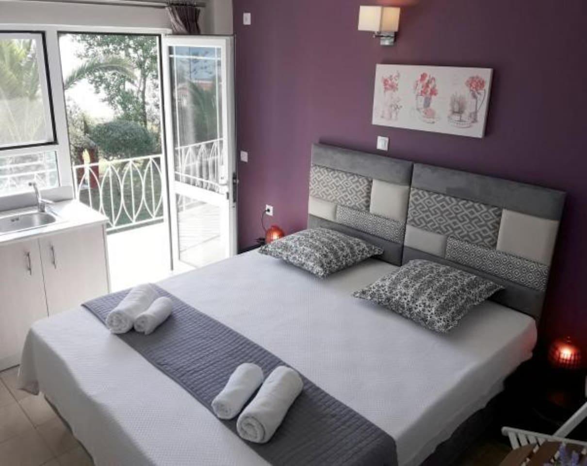 Bedroom, 1 double bed