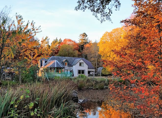 Comfortable Highland Lodge in the National Park - Newtonmore - Dom