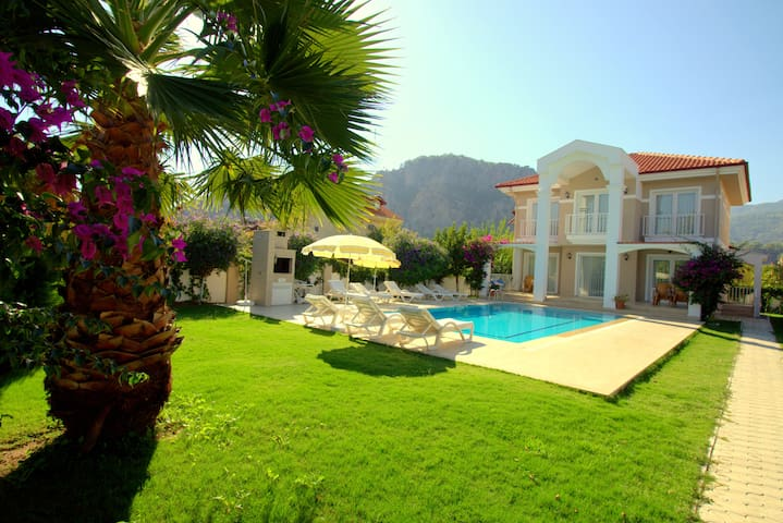 Dalyan Villa Amazon, detached and  private villa