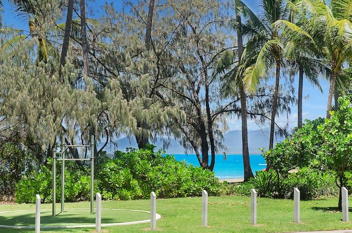 Beachfront Villa with Sea Views