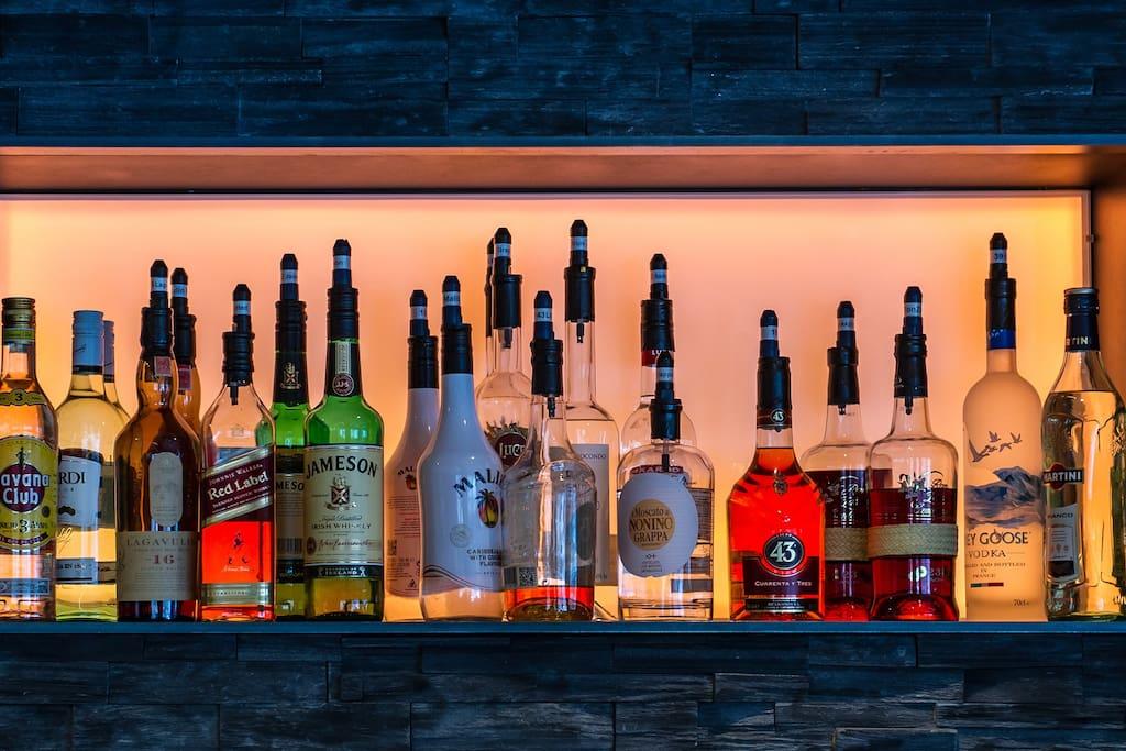 Ein kleiner Getränkeauszug unserer Bar