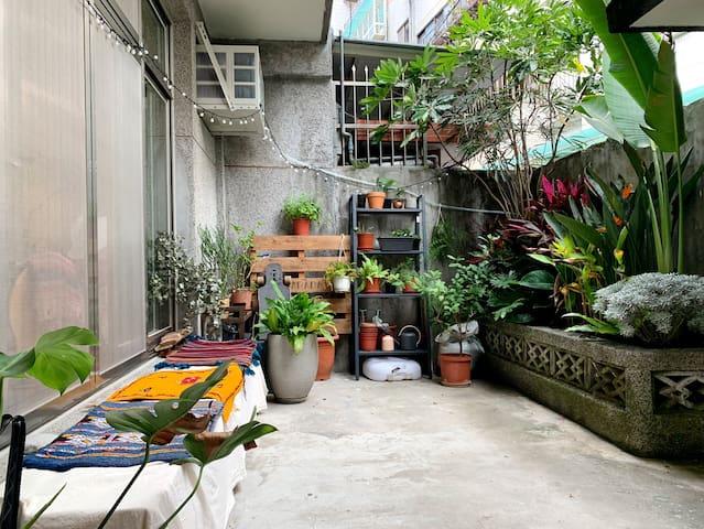 療寓-芝山岩// Single room near zhishan station