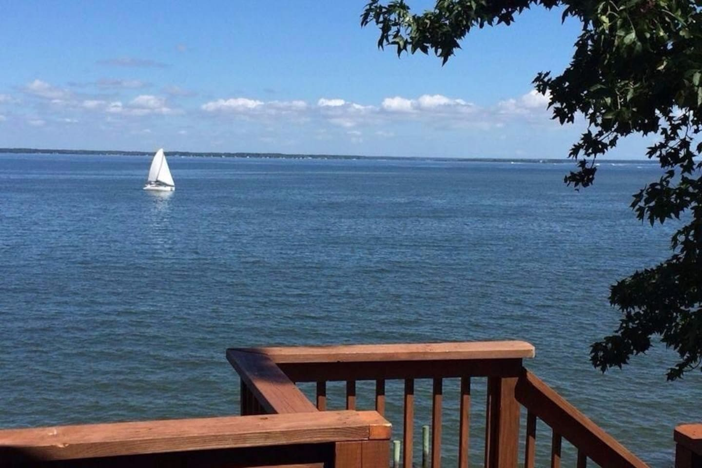 This is the most beautiful/ scenic view of the waters of the Northern Neck of Va. that you will find in the Northern Neck.  : )