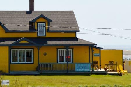 La Corde à Butin - Pointe-aux-Loups