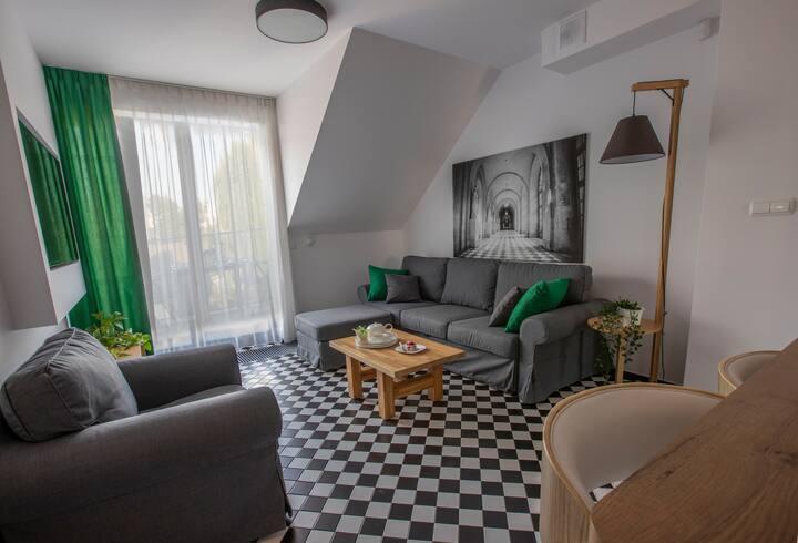 Luksusowy apartament z widokiem na Wisłę - Dębniki