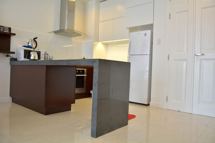 Cooking area with fully equipments