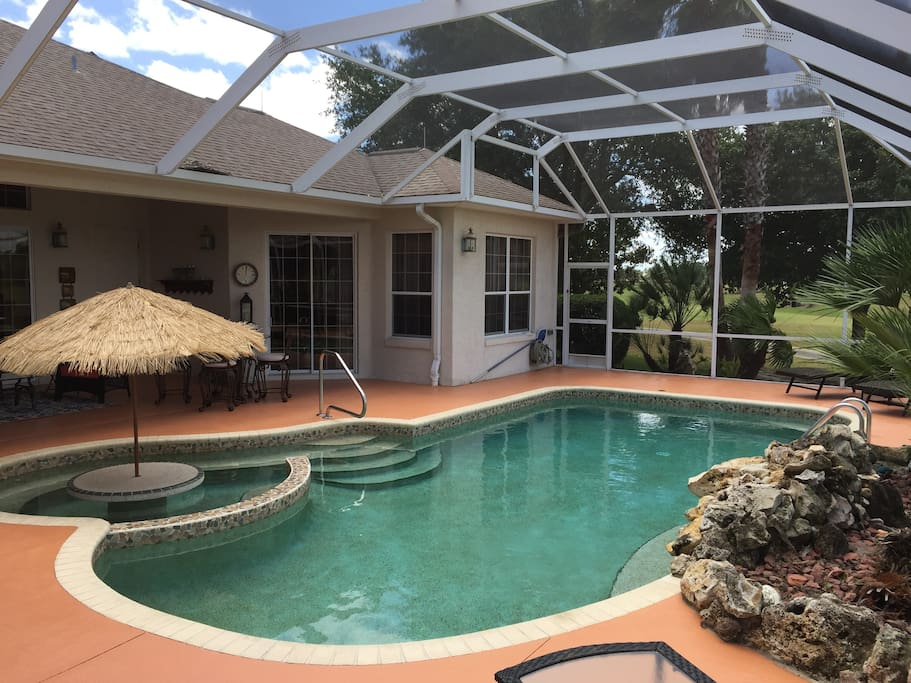 The Villages Home In Polo Ridge Sunset View Pool Houses For Rent In The Villages Florida