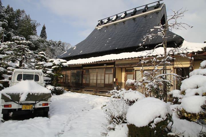 農家民宿「荒牧家」は江戸時代の古民家です - Kyōtanba-chō
