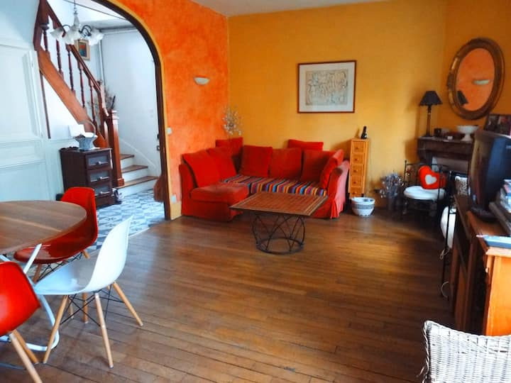 Maison avec véranda 15 mn  Paris, 25 mn de Disney.