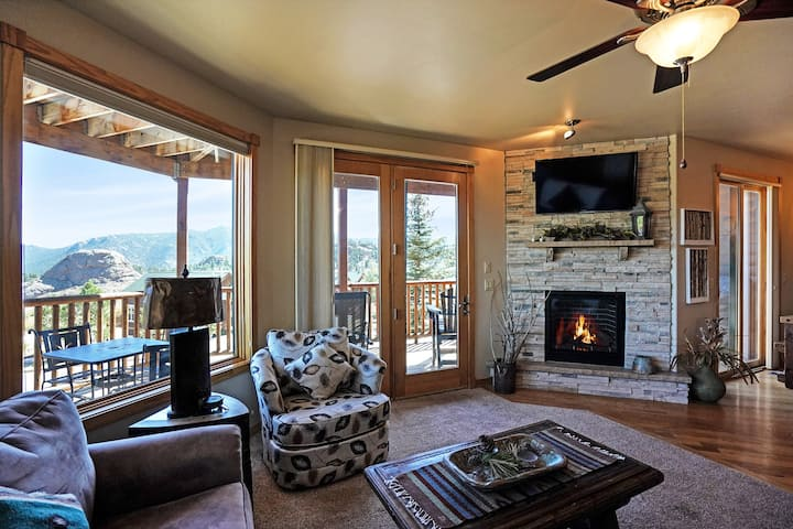 Bighorn Mountain 19B - 2 Br condo with private hot tub, Marys Lake and mountain views!