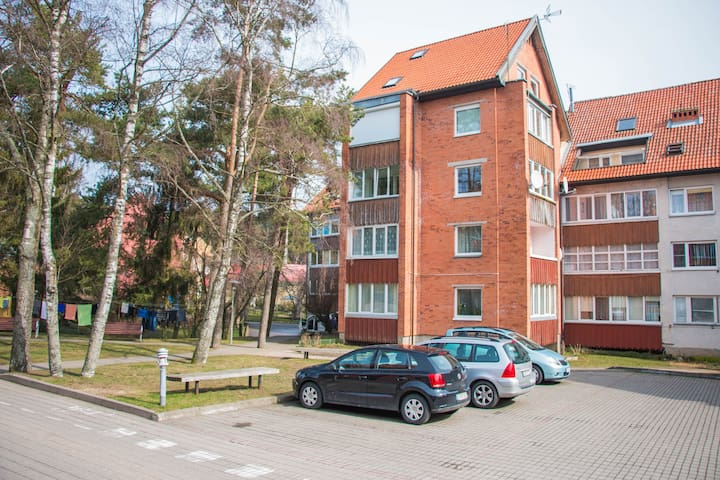 Apartment Niden with shared bathroom and kitchen - Nida - Wohnung
