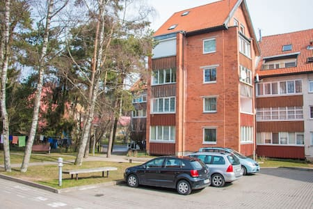 Apartment Niden with shared bathroom and kitchen - Нида - Квартира