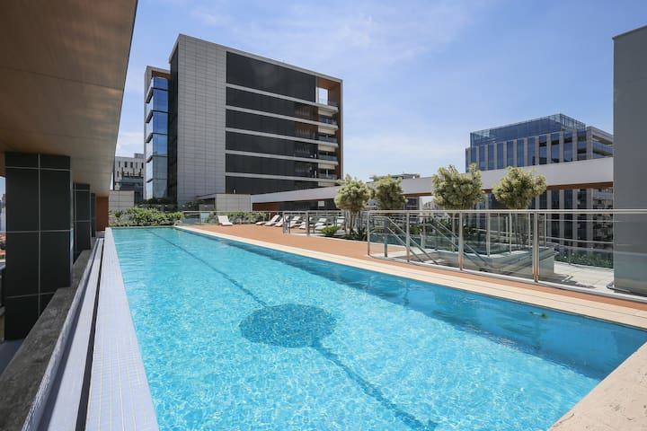 NEW FLAT MODERN AT FARIA LIMA AVE - Сан-Паулу