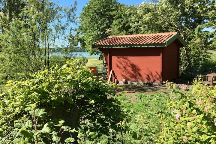 Hytte ved Vestergård Mølleri på Hjarnø