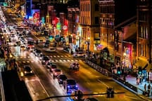 Beautiful downtown Nashville! A short walk right to Broadway and all other action!
