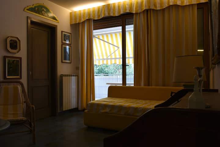 2-Zimmerwohnung  mit Parkplatz in Città Giardino