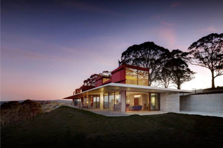 The Invisible House, a masterpiece, amazing views